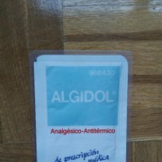 Coleccionismo Calendarios: CALENDARIO PUBLICITARIO ALGIDOL SIMILAR A HOECHST. AÑO 1995. PLASTIFICADO. VER FOTOS. Lote 219183113