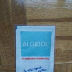 Coleccionismo Calendarios: CALENDARIO PUBLICITARIO ALGIDOL SIMILAR A HOECHST. AÑO 1997. PLASTIFICADO. VER FOTOS. Lote 219183153