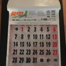 Coleccionismo Calendarios: GRAN CALENDERIO RM RACING AÑO 2002. Lote 219343336
