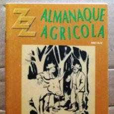 Collezionismo Calendari: ALMANAQUE AGRICOLA 1996. Lote 220175290