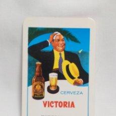 Coleccionismo Calendarios: CALENDARIO FOURNIER 1969 CERVEZA VICTORIA. Lote 220461058