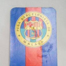 Coleccionismo Calendarios: CALENDARIO PEÑA BARCELONISTA DE MÁLAGA 1973. Lote 220651600
