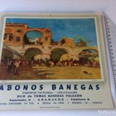Coleccionismo Calendarios: SOPORTES DE CALENDARIO PUBLICIDAD.. Lote 220844975