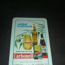 Coleccionismo Calendarios: CALENDARIO H. FOURNIER 1964, ACEITE CARBONELL. Lote 221623758