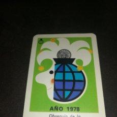 Coleccionismo Calendarios: CALENDARIO H. FOURNIER 1978 CAJA DE AHORROS Y MONTE DE PIEDAD MADRID.. Lote 221626681