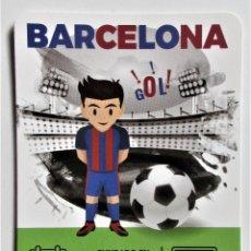 Coleccionismo Calendarios: CALENDARIO DEL F.C.BARCELONA DEL 2.021 EN CASTELLANO. Lote 221631846