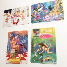 Coleccionismo Calendarios: 4 CALENDARIOS PUBLICIDAD CLUB BUCEO Y BARES - AÑOS 2002-2005 Y 2008. Lote 221816810