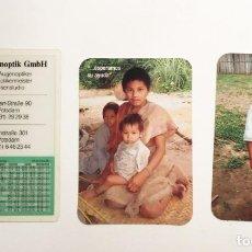 Coleccionismo Calendarios: 3 CALENDARIOS MISIONEROS DOMINICOS Y COMERCIO ALEMÁN AÑOS 1997- 2009 Y 2010. Lote 221819628