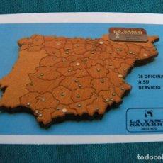 Coleccionismo Calendarios: CALENDARIO FOURNIER LA VASCO NAVARRA SEGUROS 1982. Lote 221851965