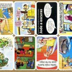 Coleccionismo Calendarios: CALENDARIOS BOLSILLO TT - CHISTES 2013. Lote 293979508
