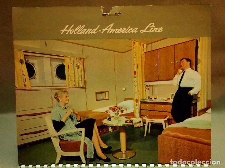 Coleccionismo Calendarios: CALENDARIO DE PARED, 1957, HOLLAND - AMERICA LINE, MEDIDAS: 30 X 25 CM - Foto 12 - 222018663