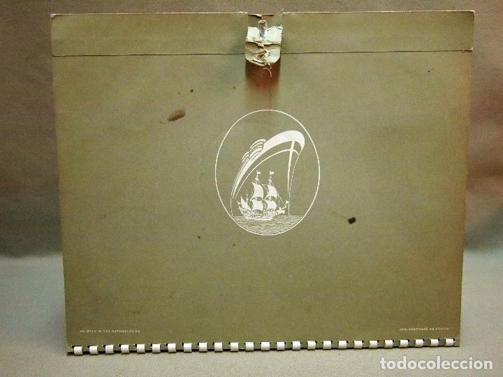 Coleccionismo Calendarios: CALENDARIO DE PARED, 1957, HOLLAND - AMERICA LINE, MEDIDAS: 30 X 25 CM - Foto 16 - 222018663