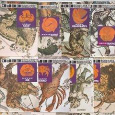 Coleccionismo Calendarios: 12 CALENDARIOS ZODIACO. MOTOR IBÉRICA. EBRO. ÁVILA.. Lote 222090150