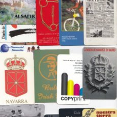 Coleccionismo Calendarios: 15 CALENDARIOS BOLSILLO NAVARRA. LEER DESCRIPCIÓN.. Lote 222090186