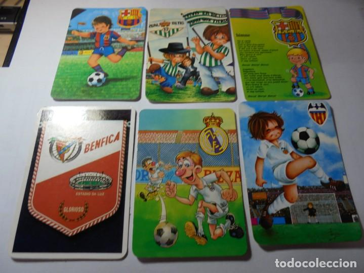MAGNIFICOS 60 CALENDARIOS ANTIGUOS DE FUTBOL (Coleccionismo - Calendarios)