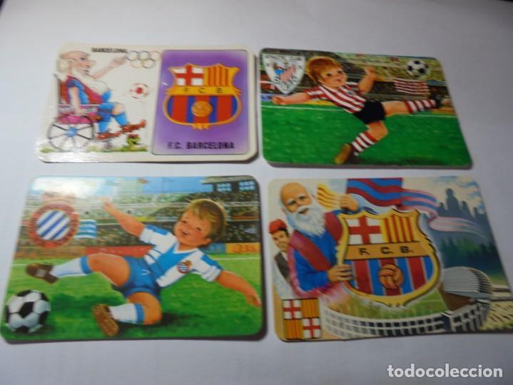 Coleccionismo Calendarios: magnificos 60 calendarios antiguos de futbol - Foto 2 - 222100961