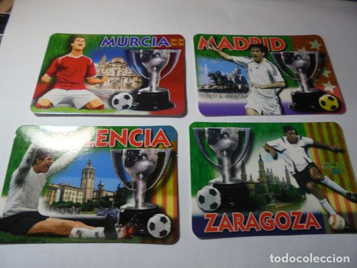 Coleccionismo Calendarios: magnificos 60 calendarios antiguos de futbol - Foto 4 - 222100961