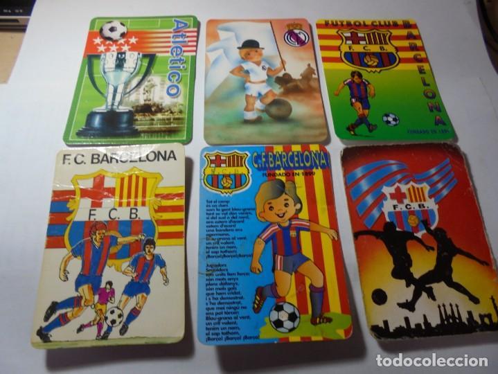 Coleccionismo Calendarios: magnificos 60 calendarios antiguos de futbol - Foto 6 - 222100961