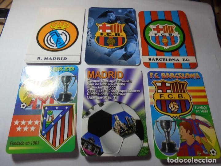 Coleccionismo Calendarios: magnificos 60 calendarios antiguos de futbol - Foto 7 - 222100961