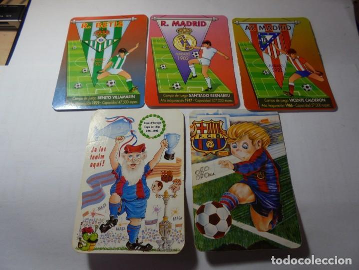 Coleccionismo Calendarios: magnificos 60 calendarios antiguos de futbol - Foto 8 - 222100961