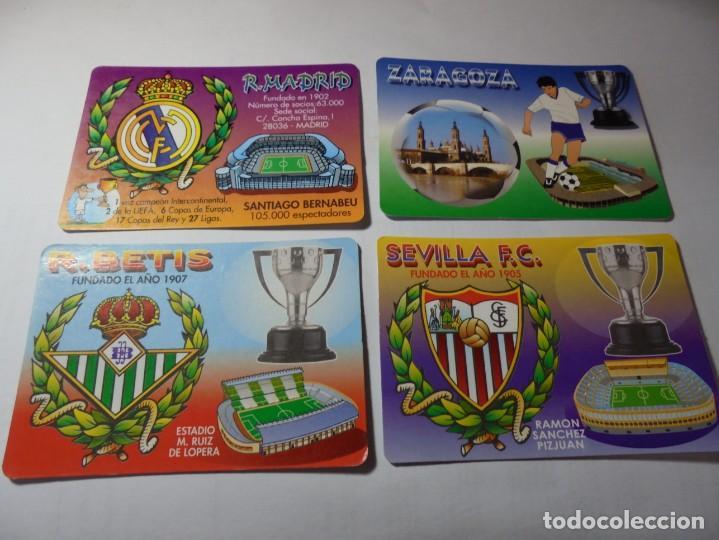 Coleccionismo Calendarios: magnificos 60 calendarios antiguos de futbol - Foto 9 - 222100961