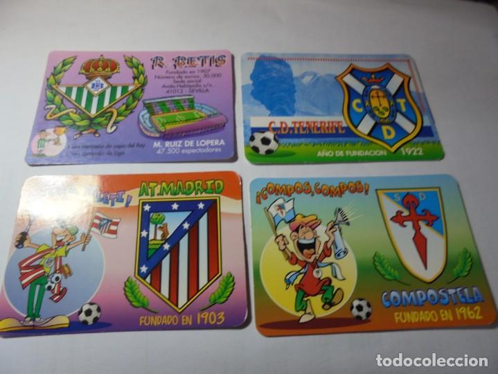 Coleccionismo Calendarios: magnificos 60 calendarios antiguos de futbol - Foto 10 - 222100961