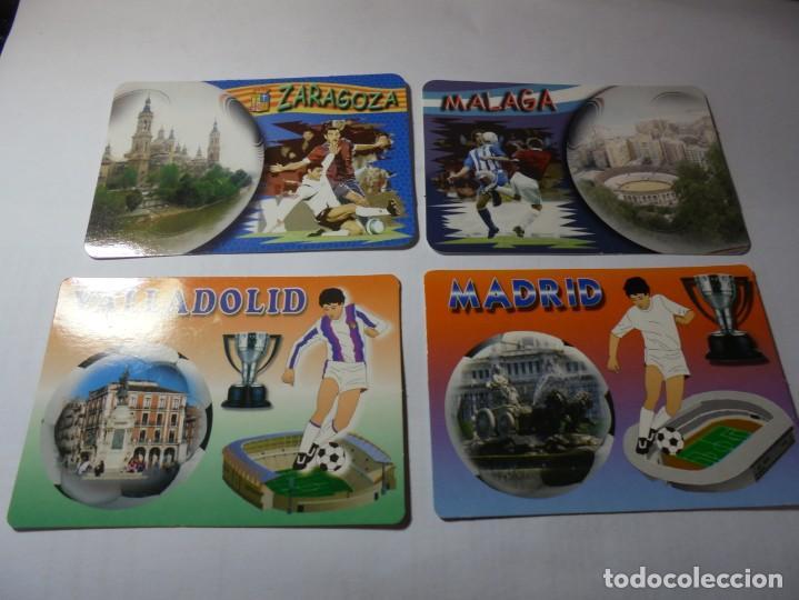 Coleccionismo Calendarios: magnificos 60 calendarios antiguos de futbol - Foto 12 - 222100961