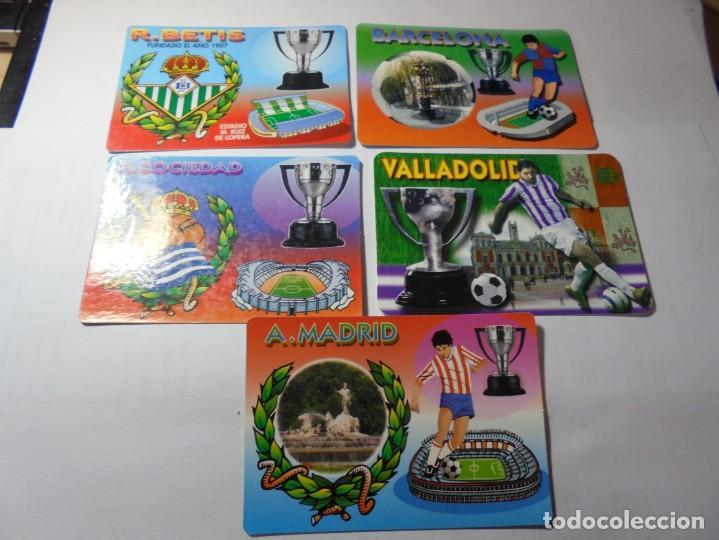 Coleccionismo Calendarios: magnificos 60 calendarios antiguos de futbol - Foto 13 - 222100961