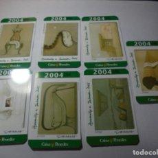 Coleccionismo Calendarios: MAGNIFICOS 150 CALENDARIOS DE BOLSILLO DE PUBLICIDAD. Lote 222104398