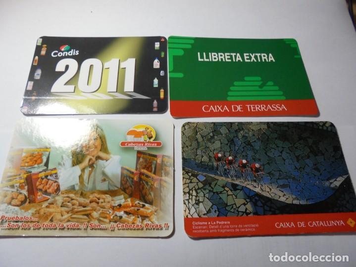 Coleccionismo Calendarios: magnificos 150 calendarios de bolsillo de publicidad - Foto 6 - 222104398
