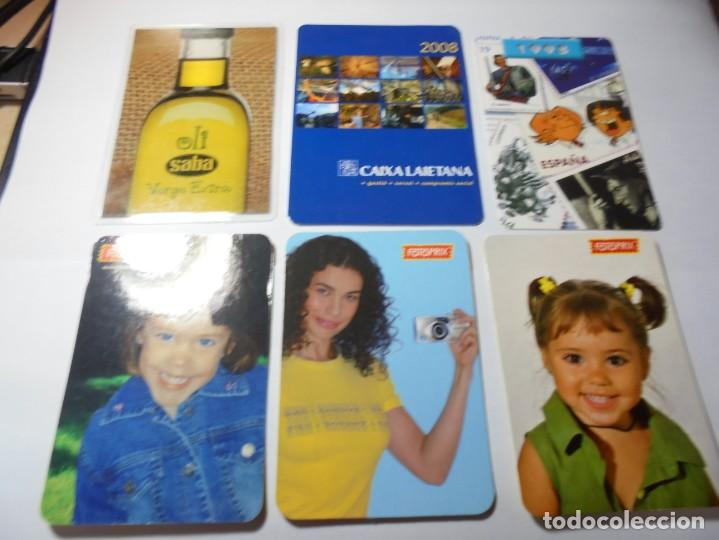 Coleccionismo Calendarios: magnificos 150 calendarios de bolsillo de publicidad - Foto 13 - 222104398