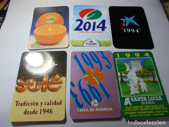 Coleccionismo Calendarios: magnificos 150 calendarios de bolsillo de publicidad - Foto 17 - 222104398
