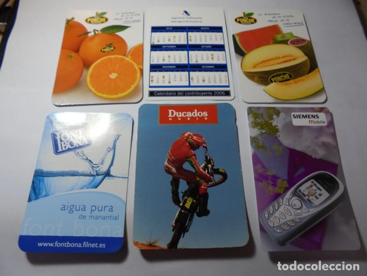 Coleccionismo Calendarios: magnificos 150 calendarios de bolsillo de publicidad - Foto 20 - 222104398