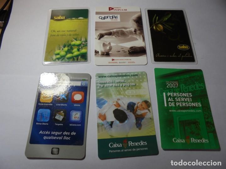 Coleccionismo Calendarios: magnificos 150 calendarios de bolsillo de publicidad - Foto 23 - 222104398