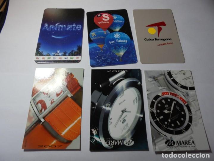 Coleccionismo Calendarios: magnificos 150 calendarios de bolsillo de publicidad - Foto 24 - 222104398