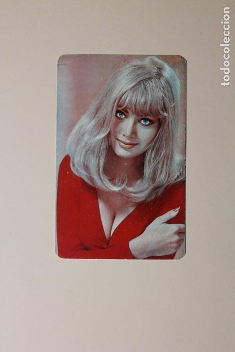 CALENDARIO DE BOLSILLO DE CHICAS. AÑO 1969. LA MAGALLONERA, S.A. - MAGALLON - ZARAGOZA. VINOS. (Coleccionismo - Calendarios)