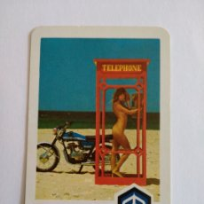 Coleccionismo Calendarios: CALENDARIO FOURNIER AÑO 1977 MOTO VESPA S.A. Lote 222120903