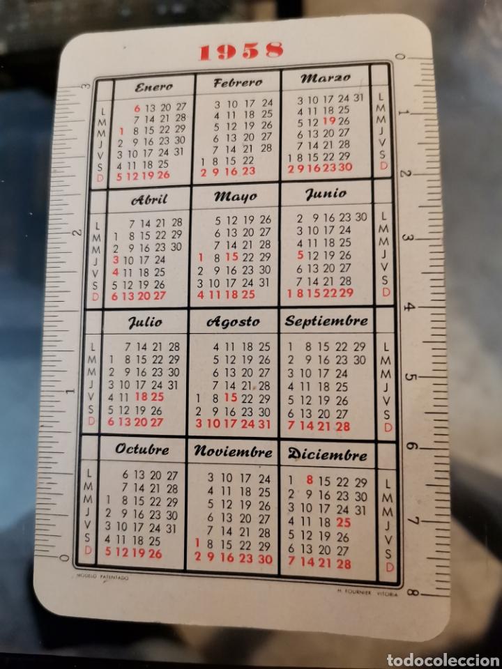 Coleccionismo Calendarios: Calendario Banco Zaragozano Fournier 1958 - Foto 2 - 222121922