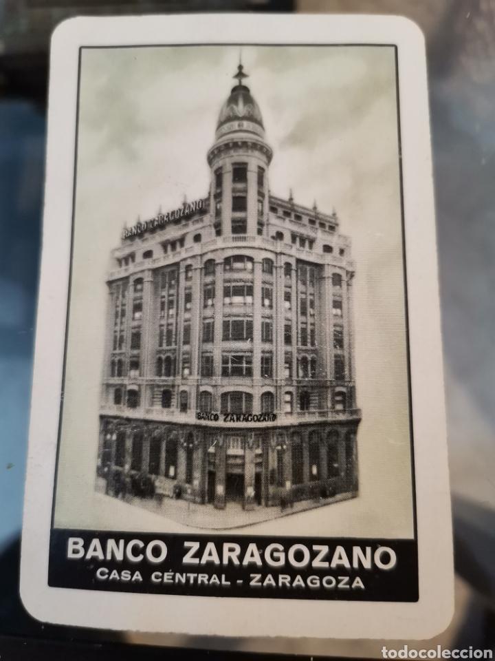 CALENDARIO BANCO ZARAGOZANO FOURNIER 1958 (Coleccionismo - Calendarios)