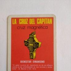 Coleccionismo Calendarios: CALENDARIO FOURNIER AÑO 1971 LA CRUZ DEL CAPITÁN. Lote 222123018