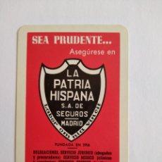 Coleccionismo Calendarios: CALENDARIO FOURNIER AÑO 1967 LA PATRIA HISPANA. Lote 222125483