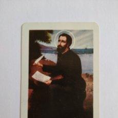 Coleccionismo Calendarios: CALENDARIO FOURNIER AÑO 1965 SAN FRANCISCO JAVIER. Lote 222126187