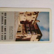 Coleccionismo Calendarios: CALENDARIO FOURNIER AÑO 1967 CAJA DE AHORROS Y MONTE DE PIEDAD DE ZARAGOZA , ARAGON Y RIOJA. Lote 222127676