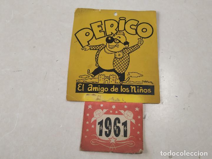 Coleccionismo Calendarios: 9 CALENDARIOS PERICO EL AMIGO DE LOS NIÑOS - AÑOS 1957-1971 - MAGIA - CIRCO - ESPECTÁCULO INFANTIL - Foto 5 - 222364766