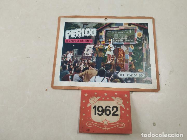 Coleccionismo Calendarios: 9 CALENDARIOS PERICO EL AMIGO DE LOS NIÑOS - AÑOS 1957-1971 - MAGIA - CIRCO - ESPECTÁCULO INFANTIL - Foto 6 - 222364766