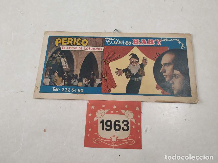 Coleccionismo Calendarios: 9 CALENDARIOS PERICO EL AMIGO DE LOS NIÑOS - AÑOS 1957-1971 - MAGIA - CIRCO - ESPECTÁCULO INFANTIL - Foto 7 - 222364766
