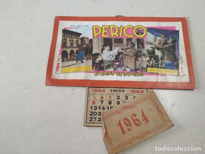 Coleccionismo Calendarios: 9 CALENDARIOS PERICO EL AMIGO DE LOS NIÑOS - AÑOS 1957-1971 - MAGIA - CIRCO - ESPECTÁCULO INFANTIL - Foto 8 - 222364766