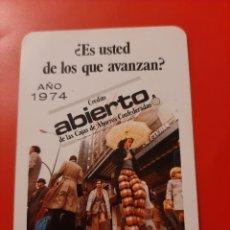 Coleccionismo Calendarios: CALENDARIO DE BOLSILLO H FOURNIER CAJA DE AHORROS DE RONDA 1974. Lote 222396686