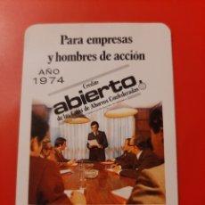 Coleccionismo Calendarios: CALENDARIO DE BOLSILLO H FOURNIER CAJA DE AHORROS DE MANRESA 1974. Lote 222396827