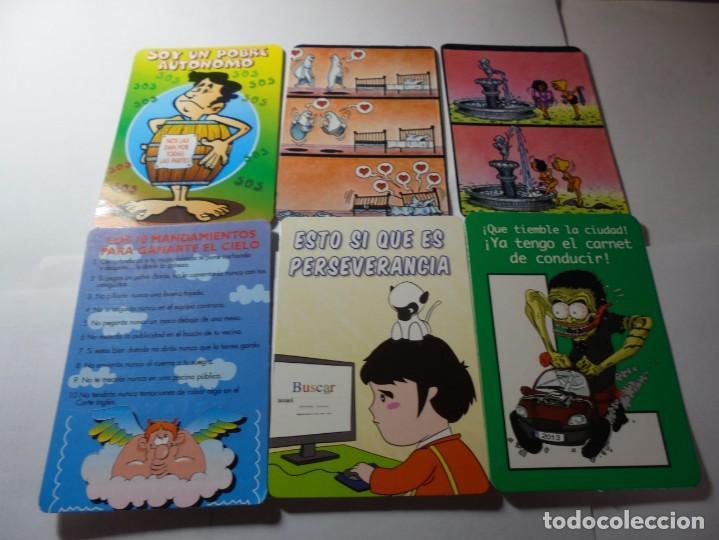 Coleccionismo Calendarios: magnificos 170 calendarios casi todos comicos - Foto 4 - 222406222